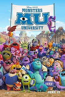 Film Monsters University