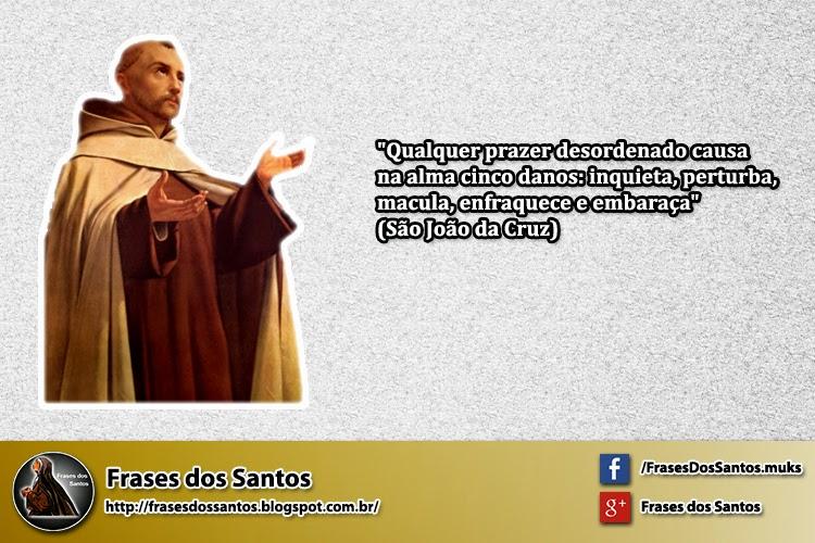 Para Discernir Os Prazeres Desordenados Frases Dos Santos