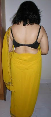 aunty back view