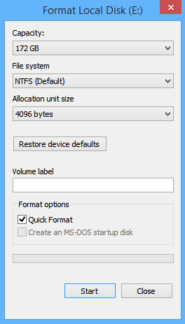 How to Format Drives in Windows