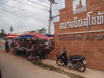 Sukhothai Airport Sunday Market