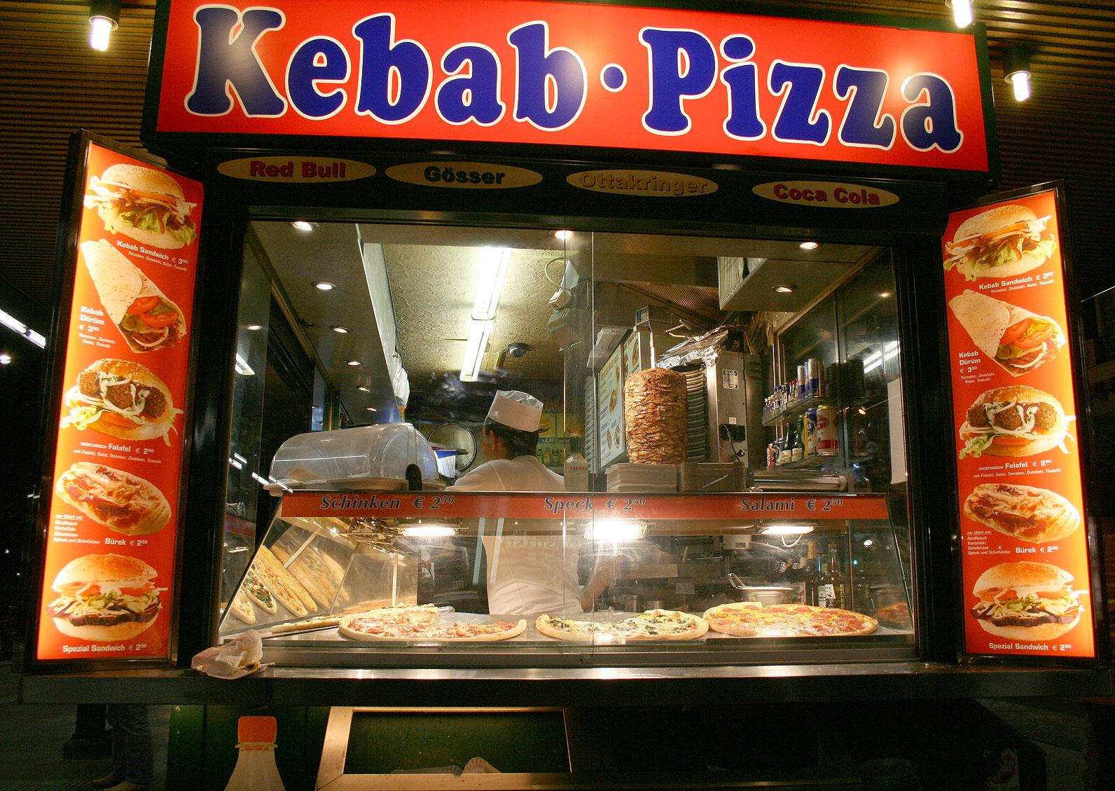 Vento Largo Maccheroni Kebab Hamburger Il Cibo Come