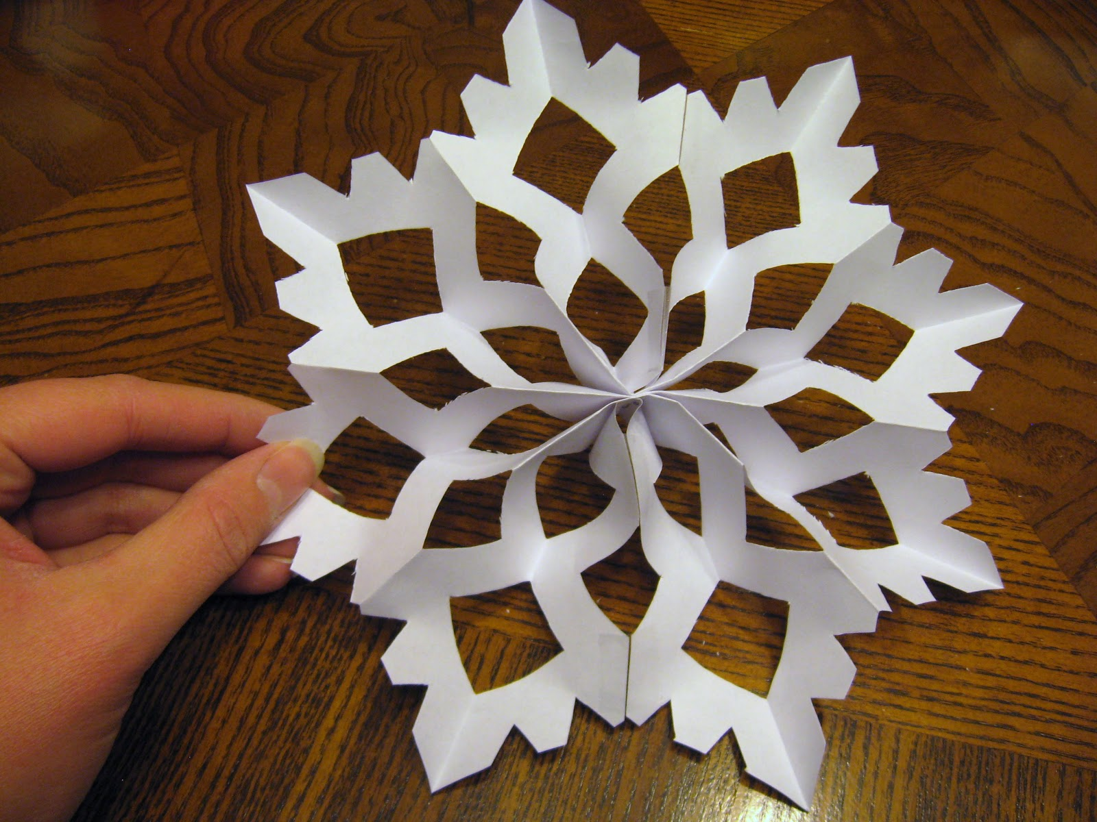 how to make a snowflake for quilting