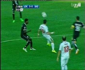 اهداف مباراة لوكوموتيف طشقند والسد 5-0 || دوري ابطال اسيا || 8-4-2015