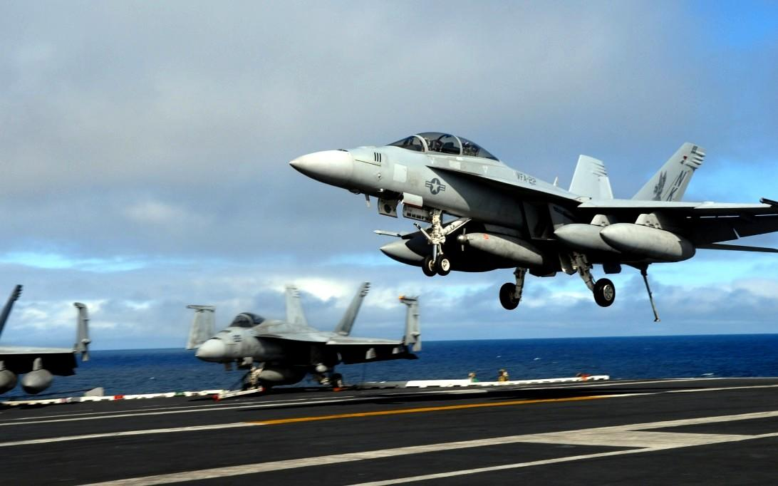 F-18 Super Hornet Jet Fighter Wallpaper 4