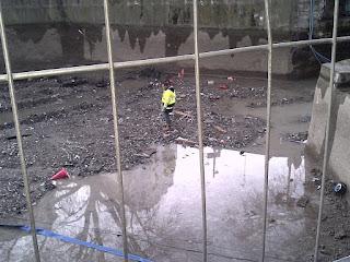 Canal Saint-Martin ouvriers au travail