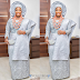 Toolz at her traditional wedding to Tunde Demuren