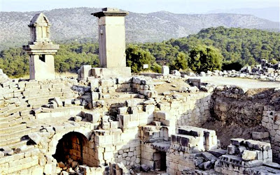 Excavations underway at ancient city of Xanthos
