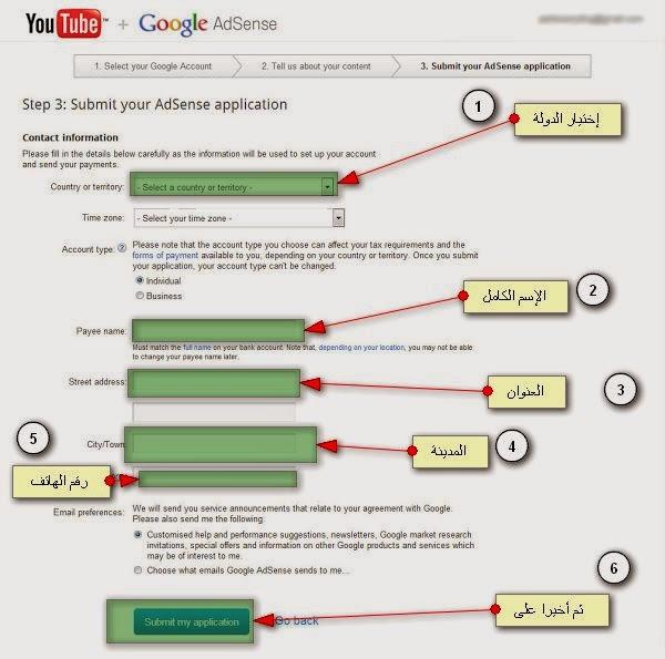 طريقة الحصول على حساب جوجل أدسنس 2014