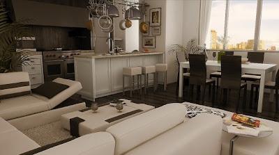 salas comedor modernas
