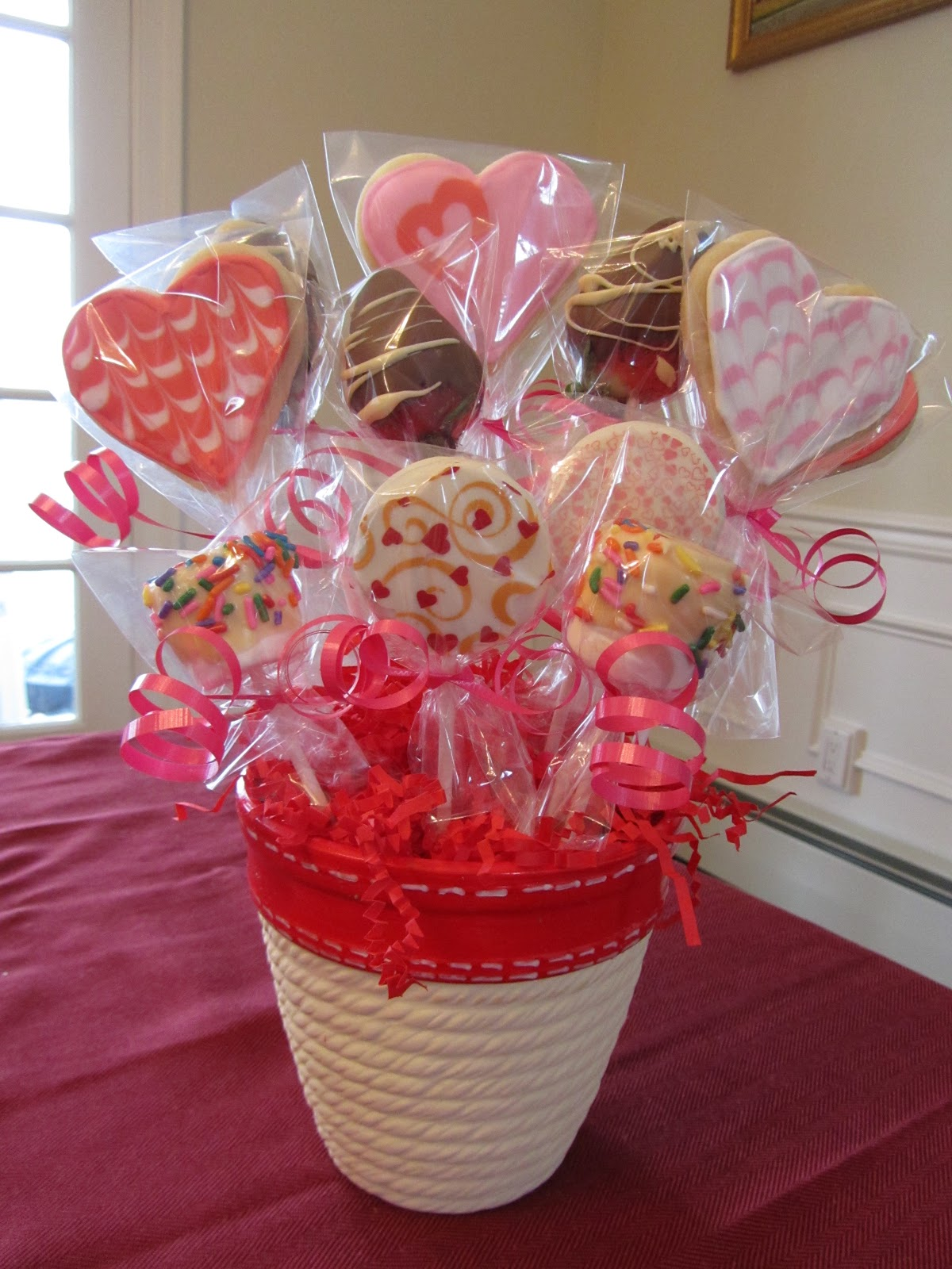 Valentine\'s Treats | The Charitable Baker