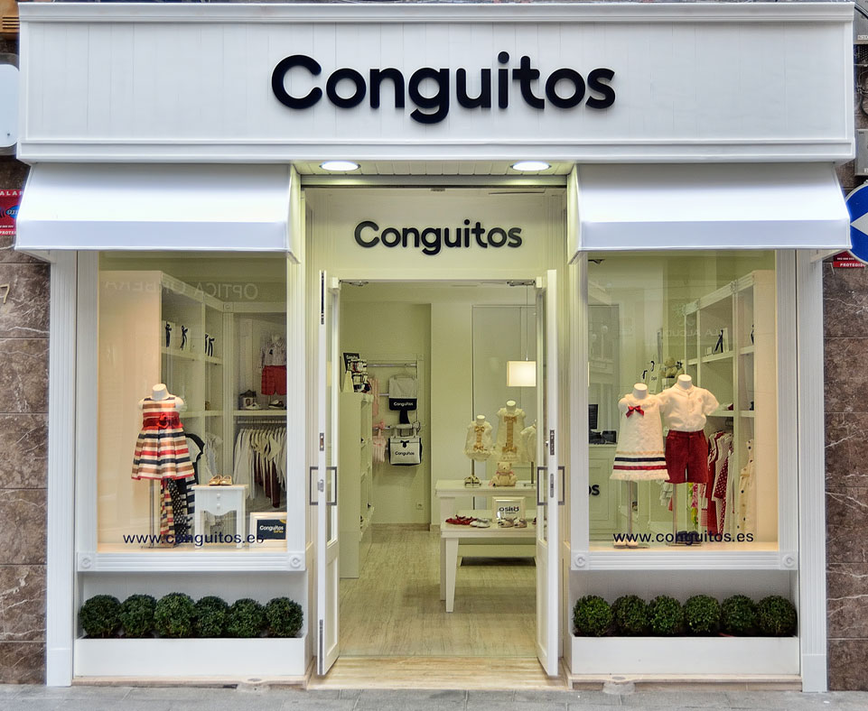 Primera tienda conguitos trendy children blog de moda - Decoracion zapateria infantil ...