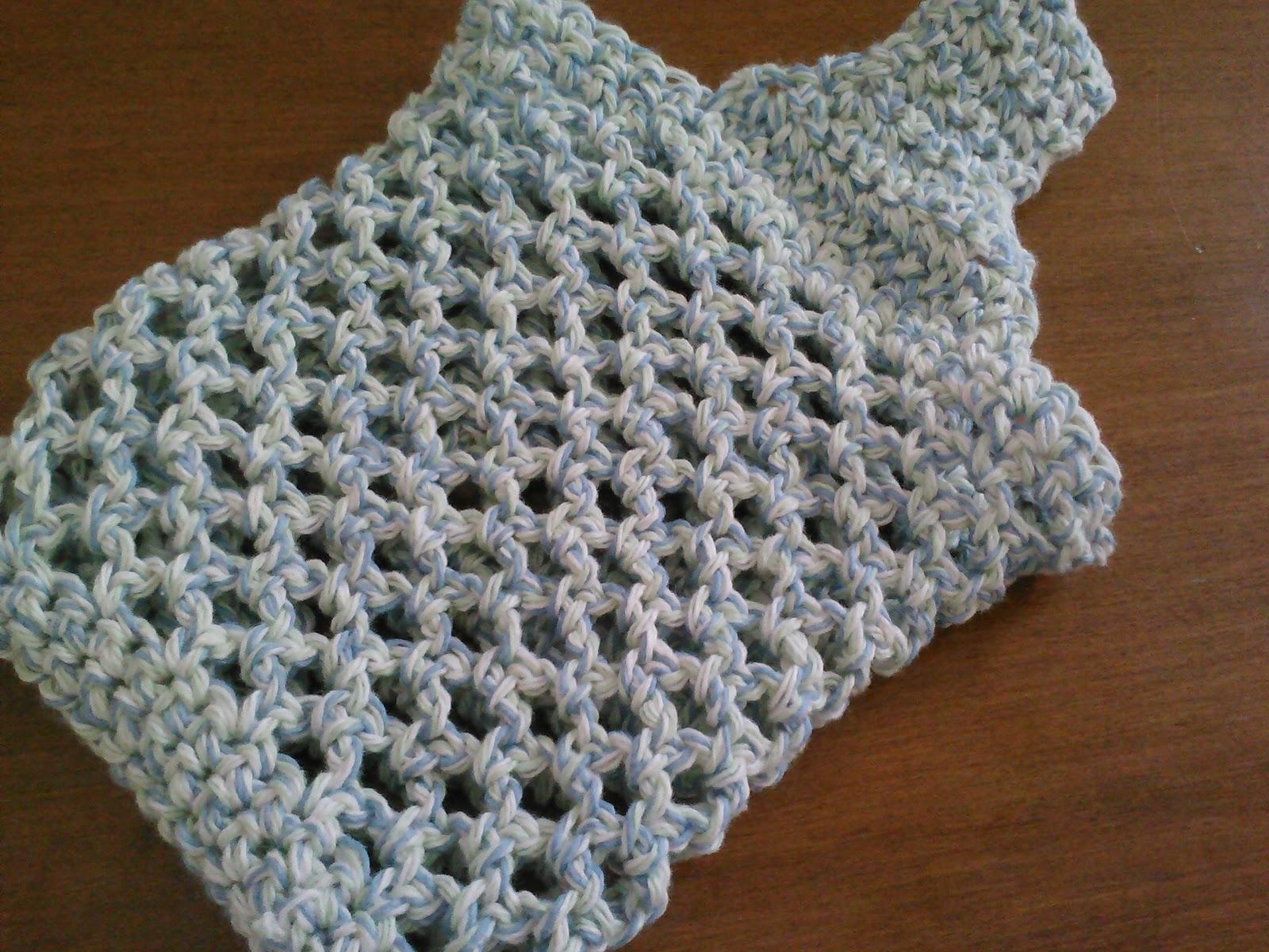 Crochet Vegetable Bag Pattern : Yum, Yarn and Yoga: Crochet Produce Bag