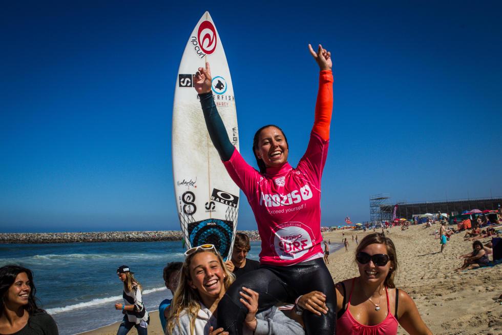 7 Ariane Ochoa EUK Prozis Pro Junior Espinho Foto WSL Damien Poullenot