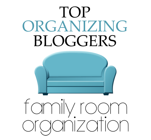 Top Organizing Bloggers Family Room Organization:: OrganizingMadeFun.com