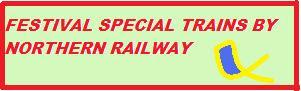 Festival Special Trains 2013