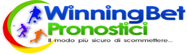 WinningBet Pronostici - Pronostici Calcio Serie A, B, Champions Europa League