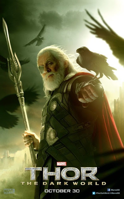 Thor: The Dark World Anthony Hopkins Odin Character Banner