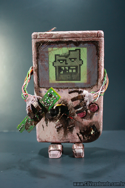 O ataque do Game Boy zumbi