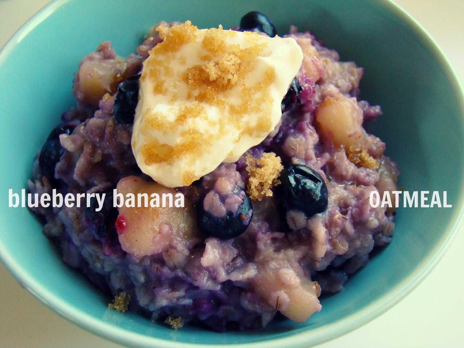 Family Feedbag: Blueberry banana oatmeal