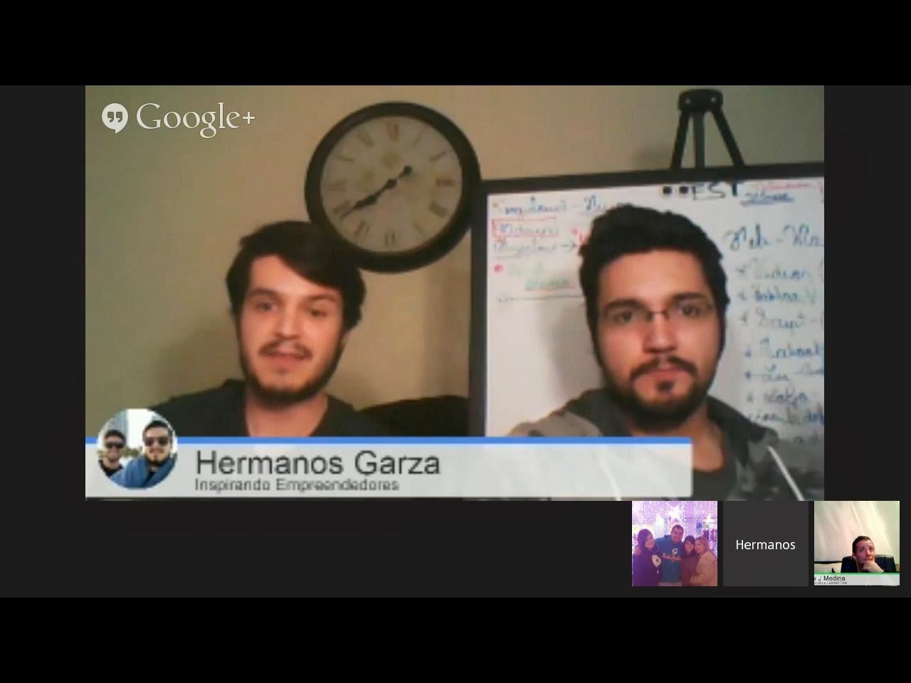 Hangout sobre Como utilizar un Blog y mejorar tus resultados
