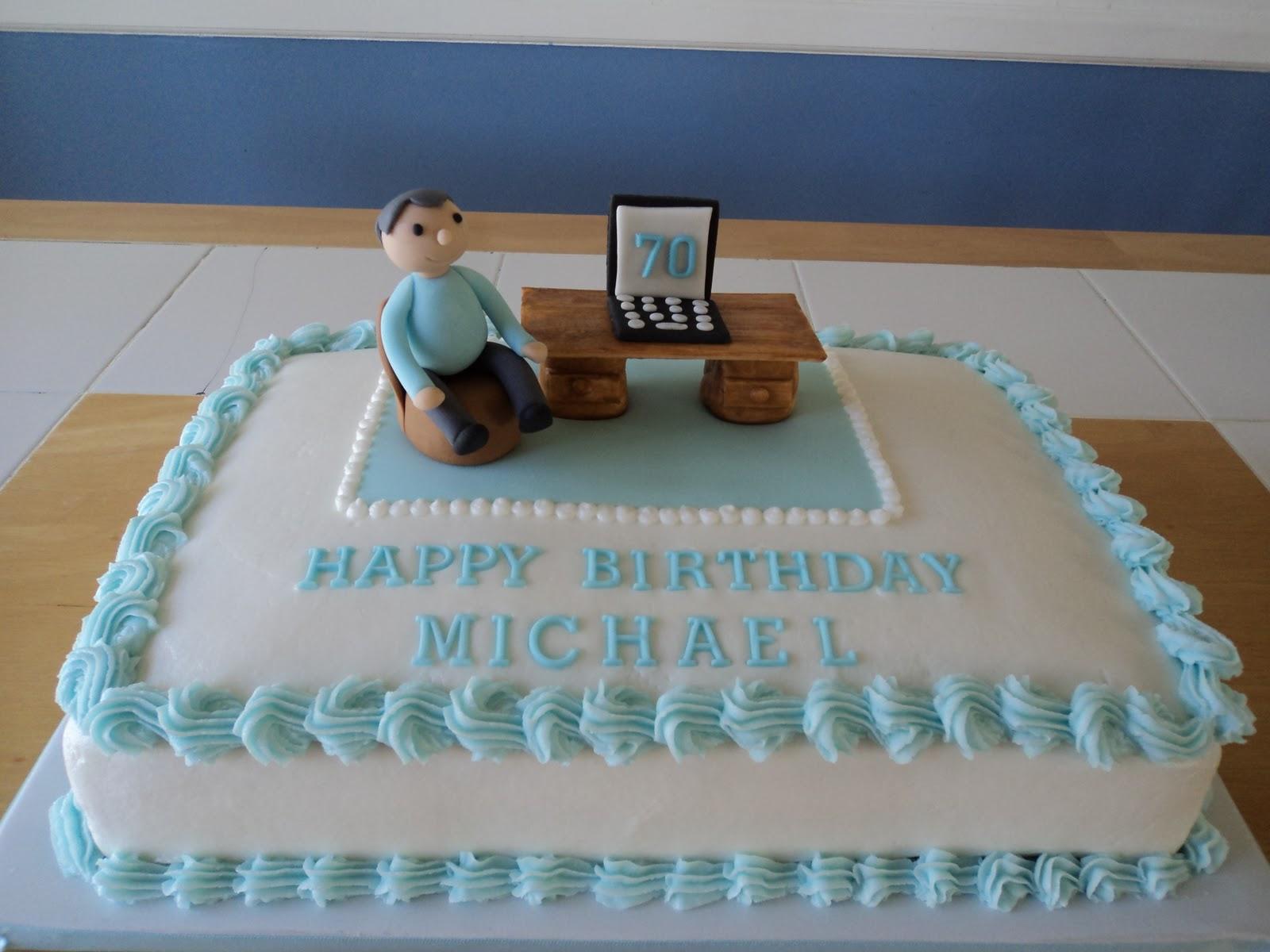SweetDesigns: 70th Birthday Cake