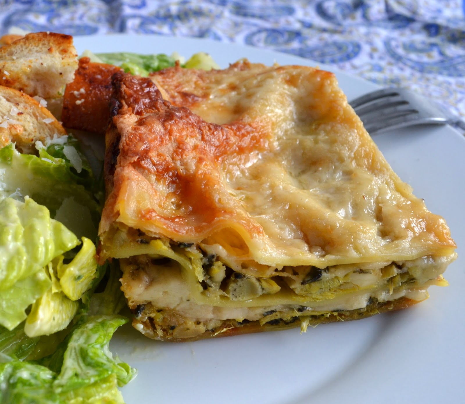 ... by Rook No. 17*: Recipe: Artichoke Lovers' Four Cheese White Lasagna