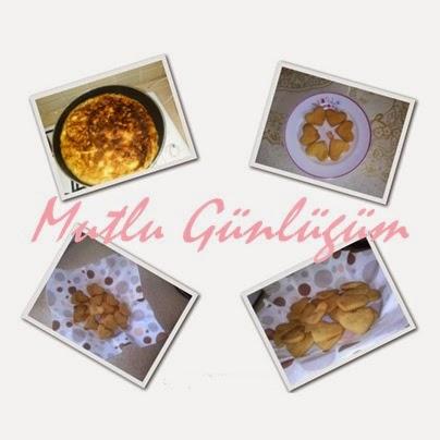 Tava böreği ve irmikli bebek kurabiyesi