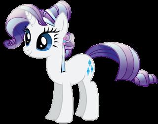Rarity Mi pequeño pony para imprimir