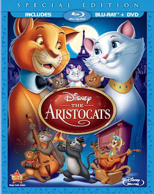 [DVD & Blu-Ray Disc] les aristochats (août 2012) Aristogatos