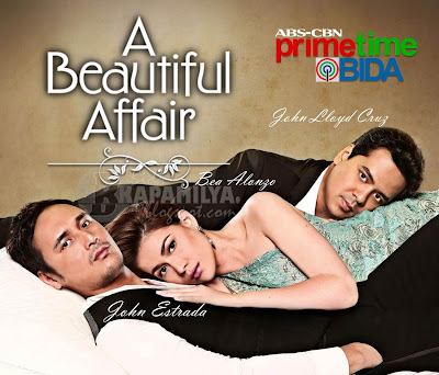 John Lloyd Cruz, Bea Alonzo and John Estrada for A Beautiful Affair