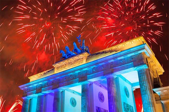 Noche Vieja Berlín, Alemania