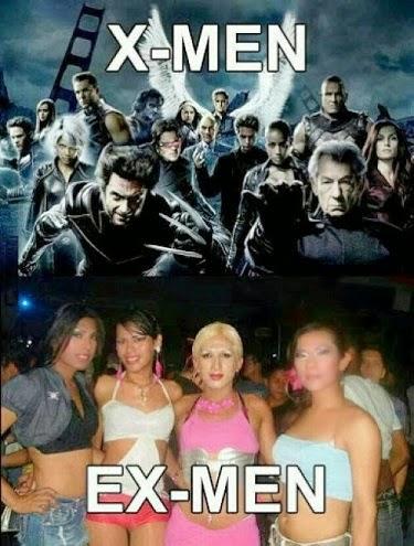 X-men vs Ex-men