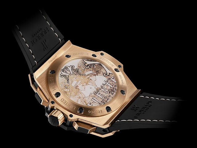 Hublot King Power Arturo Fuente Gold - Bottom