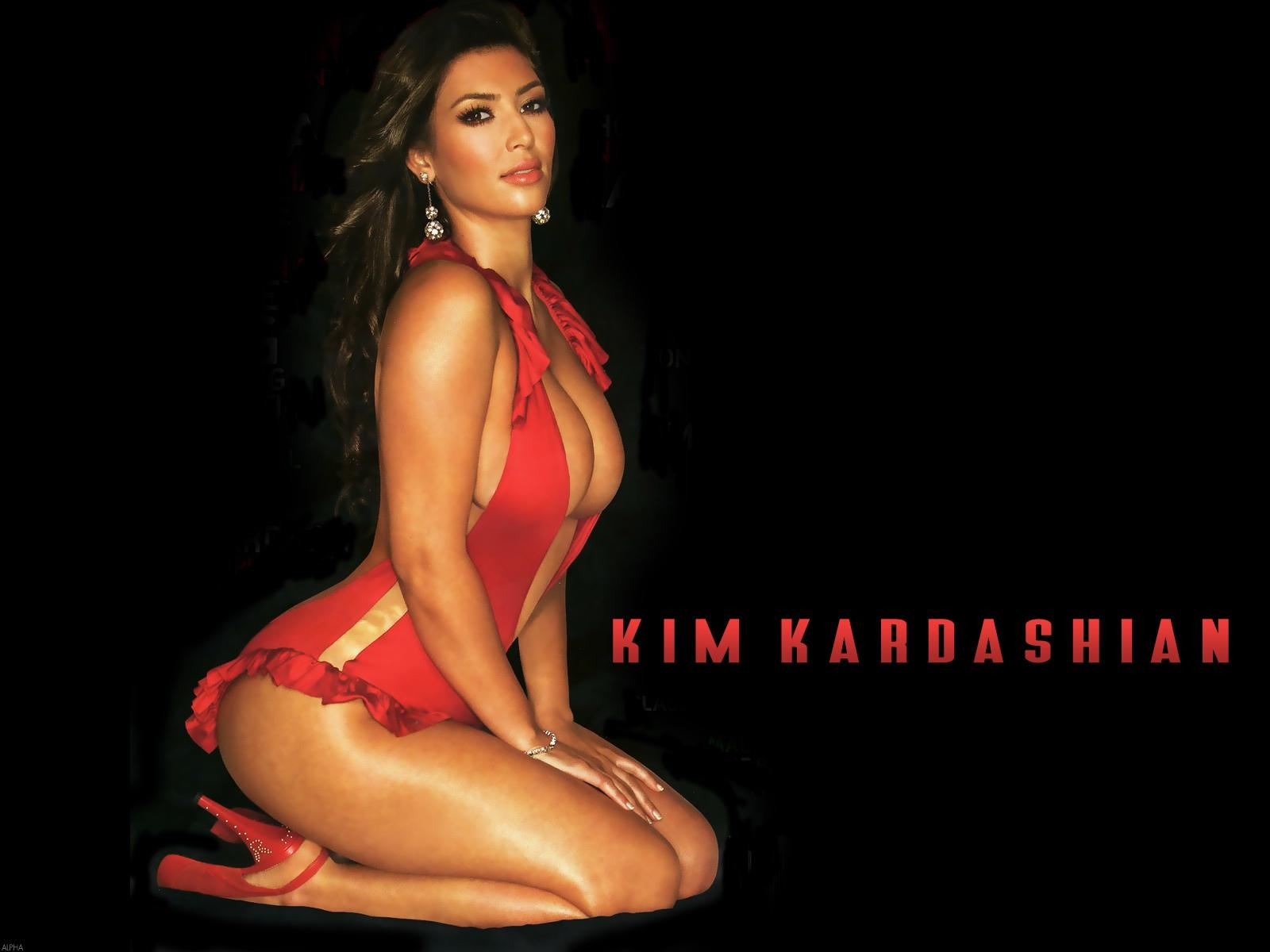Wallpapers kim kardashian
