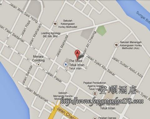 安顺酒店谷歌地图