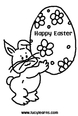 Easter Coloring Pages, easter