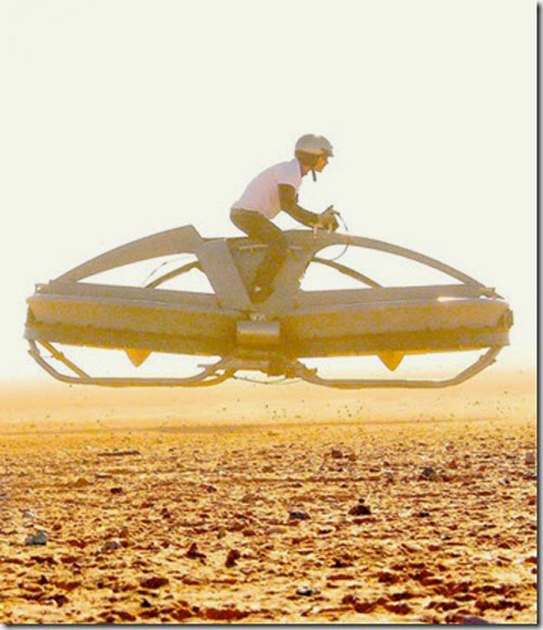 Personal Hover Bike Special Photos