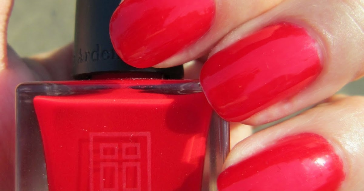 Concrete and Nail Polish: Elizabeth Arden Seaview Crimson