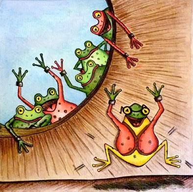 ¿Porqué se dice la rana era sorda?