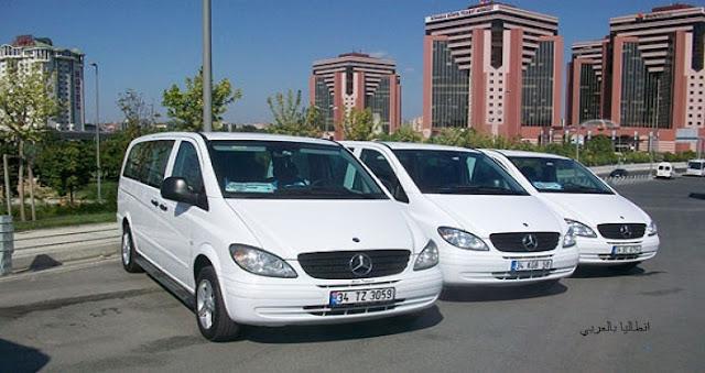 سائق مع سيارة في اسطنبول