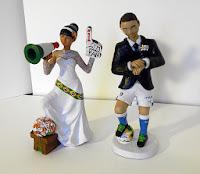 statuine sposi topper cake tops sposini torta matrimonio orme magiche