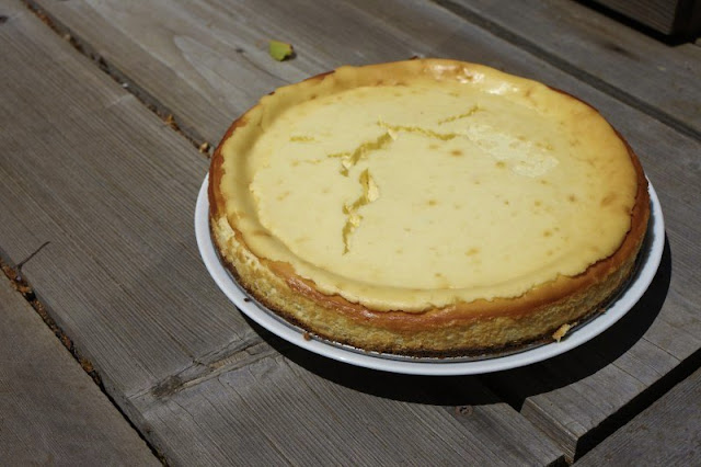 goat cheese cheesecake recipe. dinners with friends