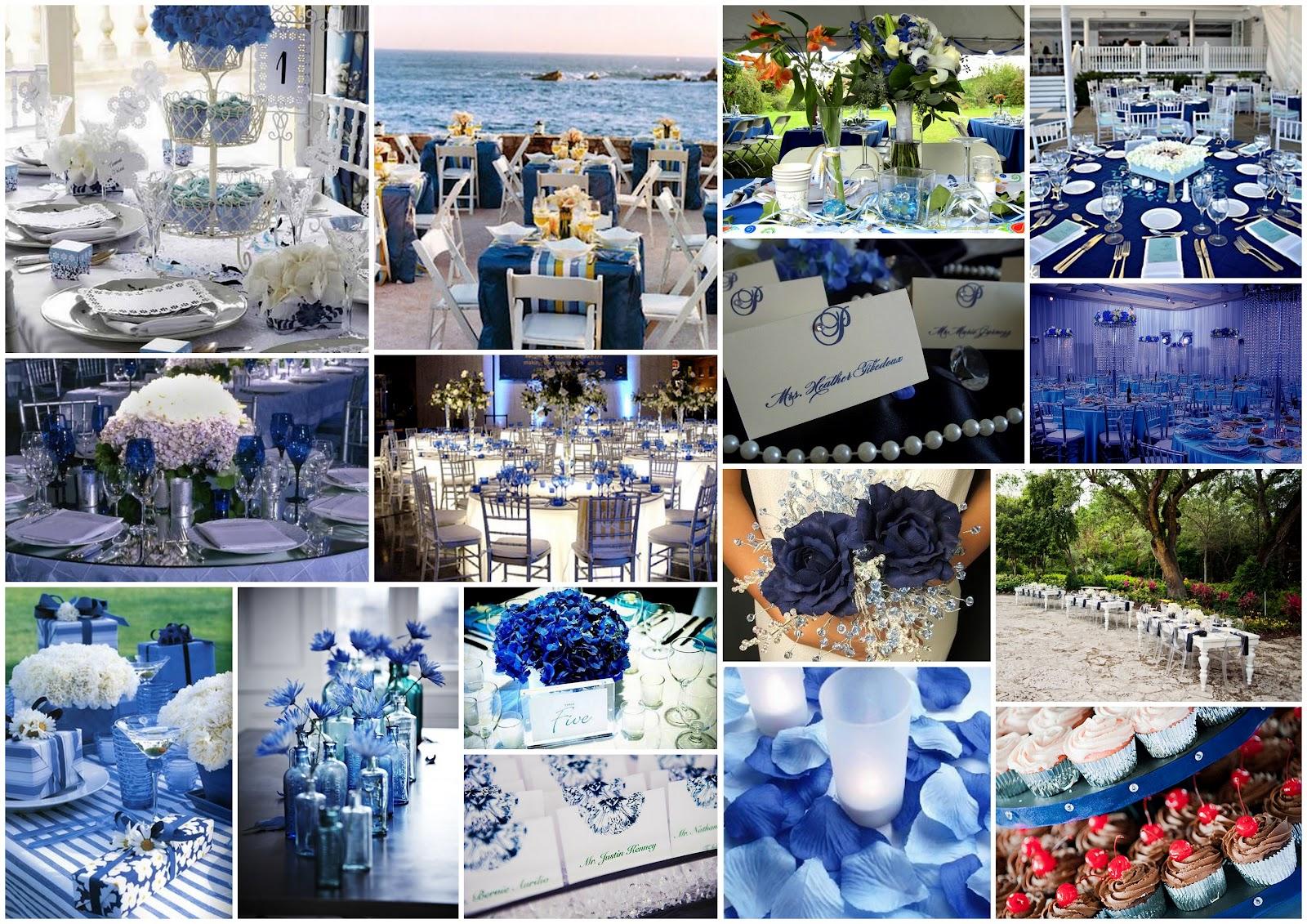 Matrimonio Tema Bianco E Blu : Matrimonio e un tocco di classe colores del para