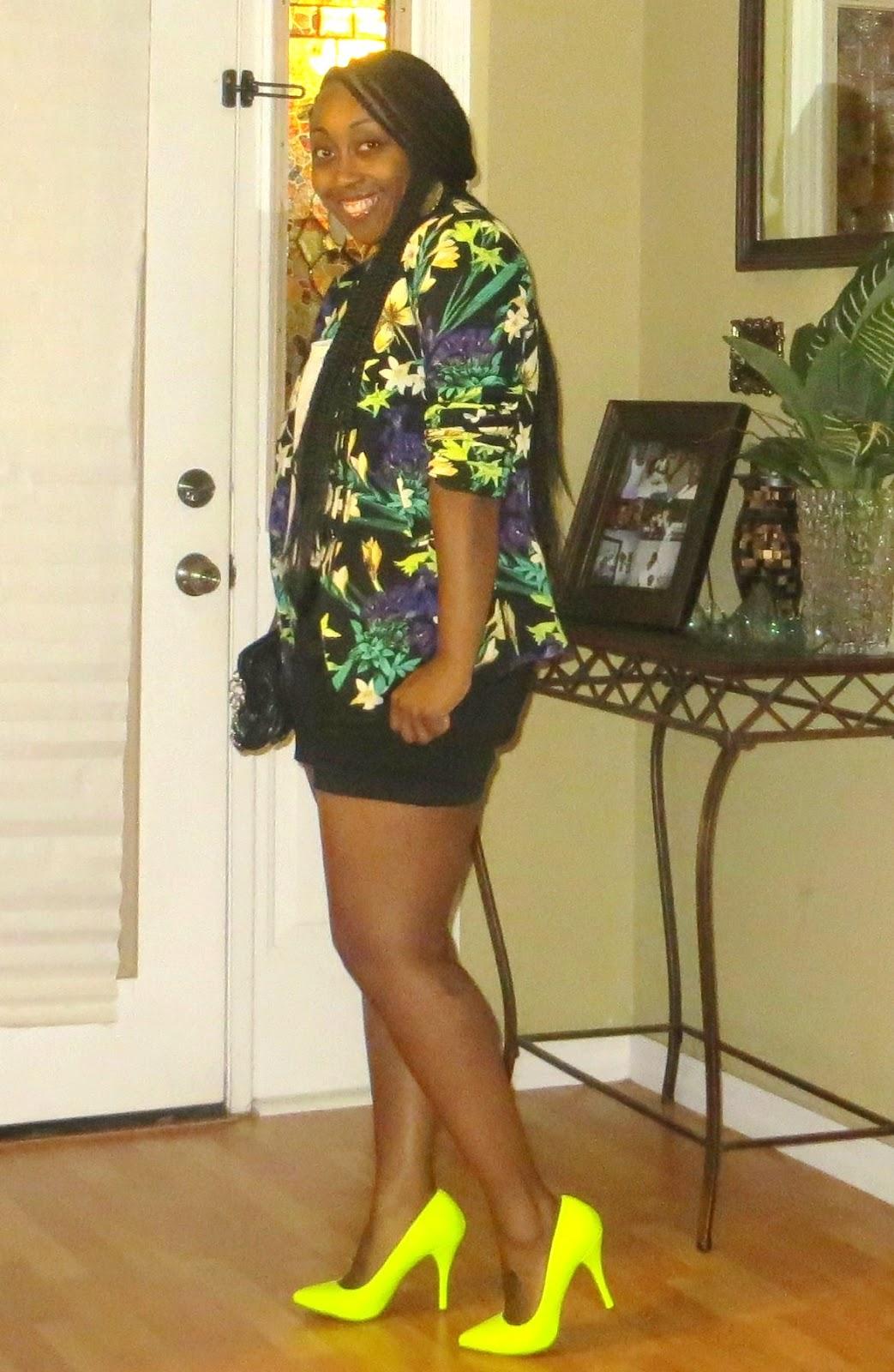 Highlighter Yellow Heels