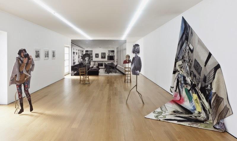 Goshka Macuga, Installation View, © Goshka Macuga  Courtesy Galerie Rüdiger Schöttle