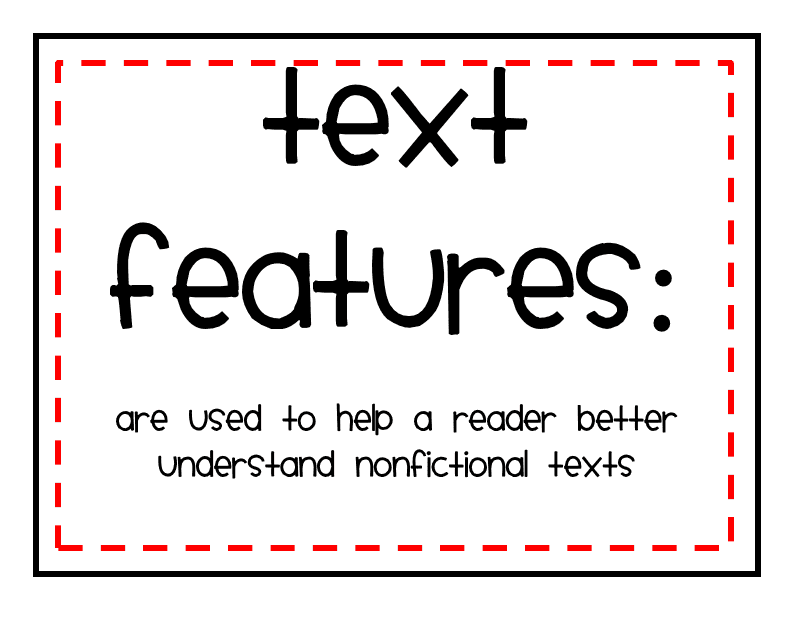 Text Features Lessons Tes Teach – Text Features Worksheet 3rd Grade