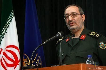 Wakil Kepala Staf Gabungan Angkatan Bersenjata Iran Brigadir Jenderal Seyed Masoud Jazayeri