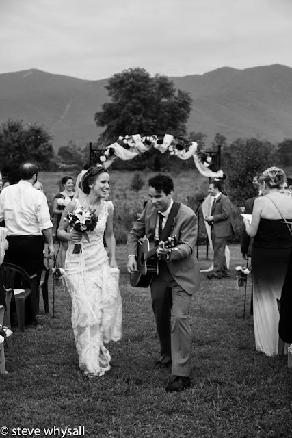 Virginia Farm Wedding Ceremony Photo