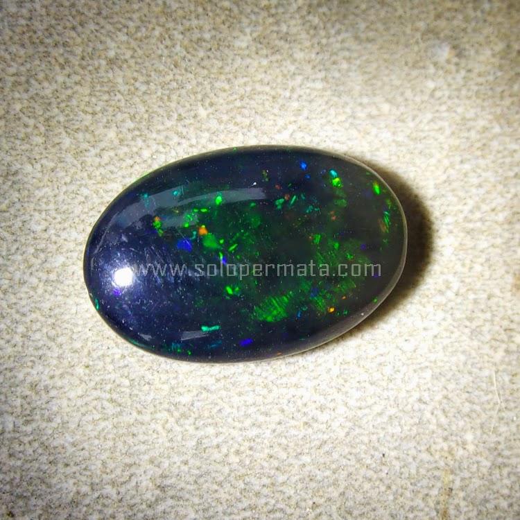 Batu Permata Black Opal Kalimaya - SP498